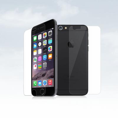 Películas de Protecção Frente e Trás 100% Transparentes iPhone 6/6S