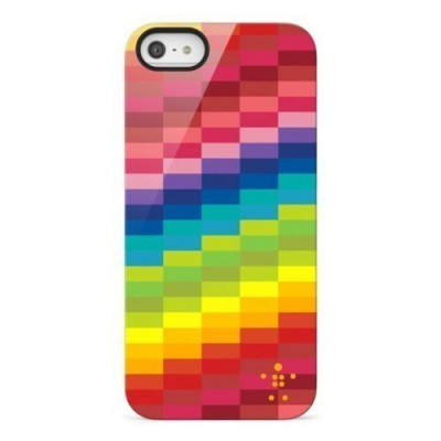 iPhone 5/5S/5SE Capa Rígida Belkin Shield Pixel
