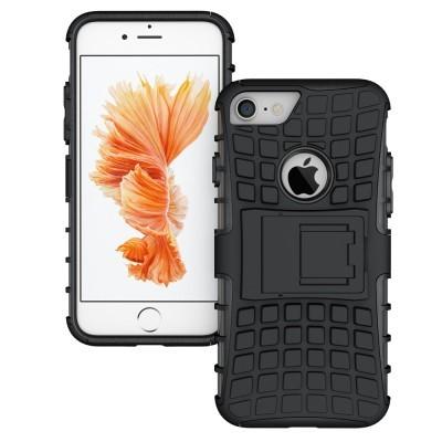 iPhone 7/8 Capa Híbrida Stand Anti-Shock