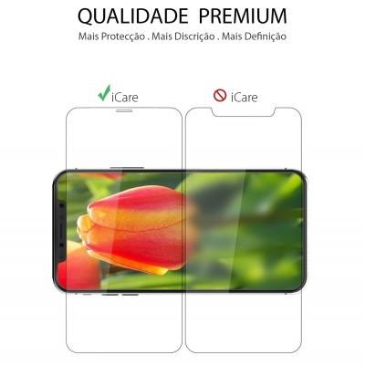 Películas de Protecção de Ecrã Ultra-Finas em Vidro Temperado Nano Flex HD+ iPhone XS Max