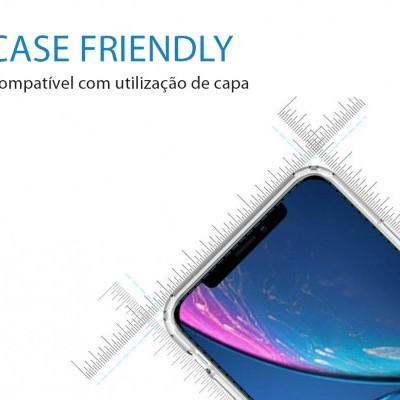 Películas de Protecção de Ecrã Ultra-Finas em Vidro Temperado Nano Flex HD+ iPhone 11