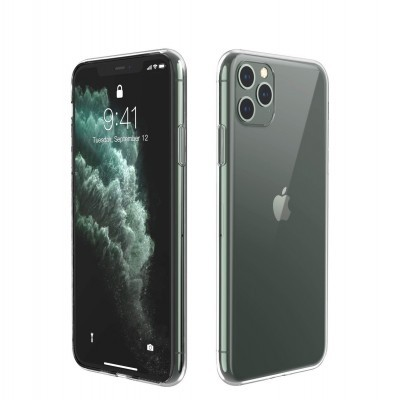 iPhone 11 Pro Capa Ultra-Fina Silicone Transparente
