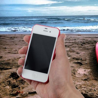 iPhone 4/4S Capa Super Slim (As mais finas do mundo)