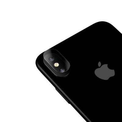 Películas de Protecção de Câmara Traseira Baseus (Pack 2) em Vidro Temperado iPhone XS Max