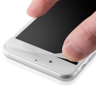Películas de Protecção de Ecrã em Vidro Temperado 3D Full Screen Soft Edge iPhone 6/6S Plus - Branco