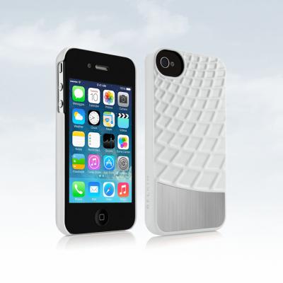 iPhone 4/4S Capa Belkin Meta 030 Dual Alumínio