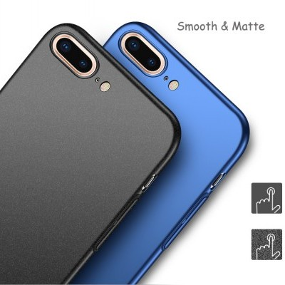 iPhone 7/8 Plus Capa ULTRA FINA Frosted (Rígidas mais finas do mercado)