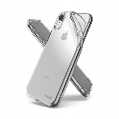 iPhone XR Capa Fina Ringke Air Silicone 100% Transparente