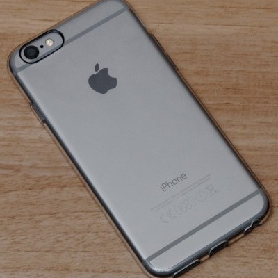 iPhone 6/6S Plus Capa Silicone Transparente Plasma PURO