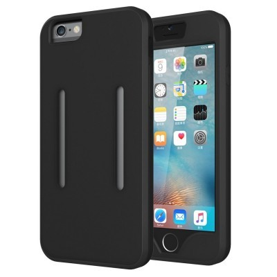 iPhone 6/6S Armband 2-1 Silicone (Bolsa Desportiva)