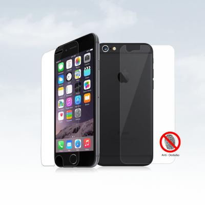 Películas de Protecção Frente e Trás Anti-Dedadas (Efeito Mate) iPhone 6/6S