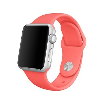 Apple Watch - Bracelete desportiva cor-de-rosa (38mm)