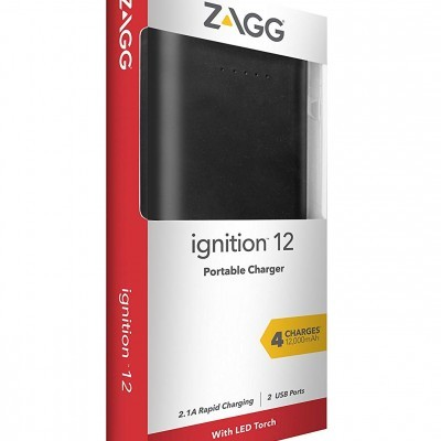 Power Bank / Bateria Universal Zagg Ignition 12000mAh