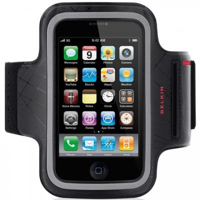 iPhone 4/4S Belkin DualFit Armband (Bolsa Desportiva)