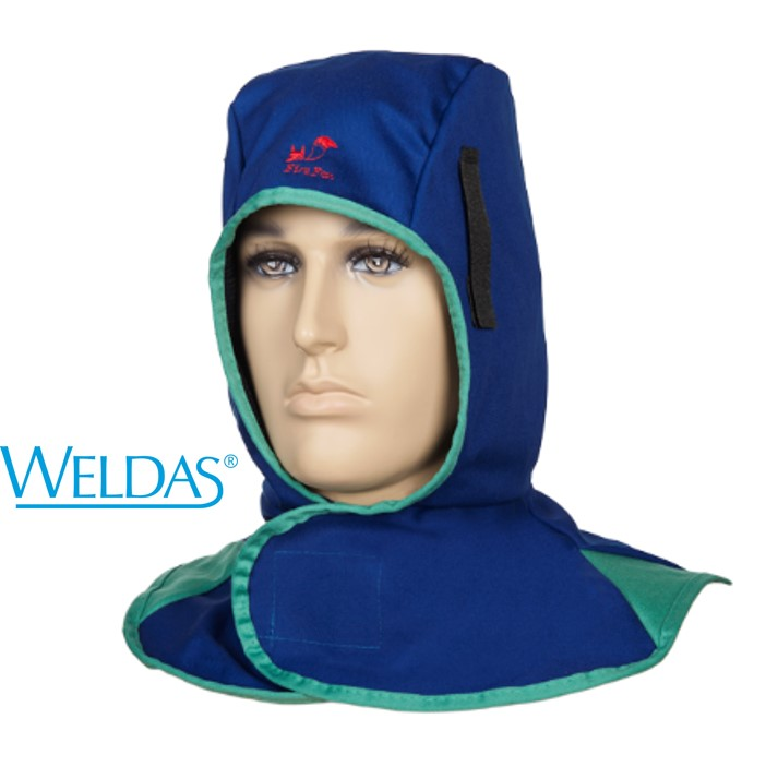 Touca integral WELDAS azul 23-6680