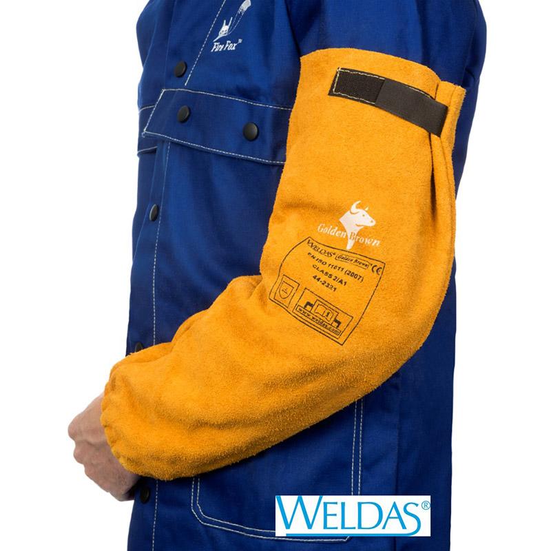 Manguitos WELDAS Golden Brown 44-2321