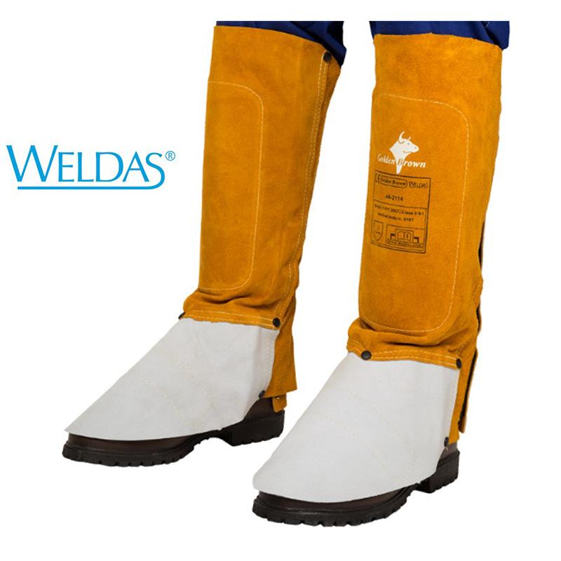 WELDAS Polainas de 36 cm Golden Brown 44-2114