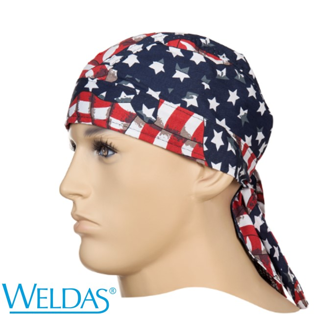 Touca Bandana WELDAS USA Flag 23-3604