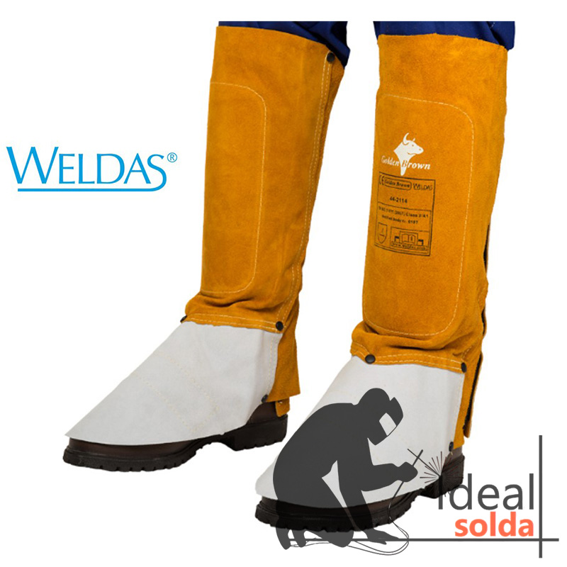 WELDAS Polainas de 36 cm Golden Brown 44-2114