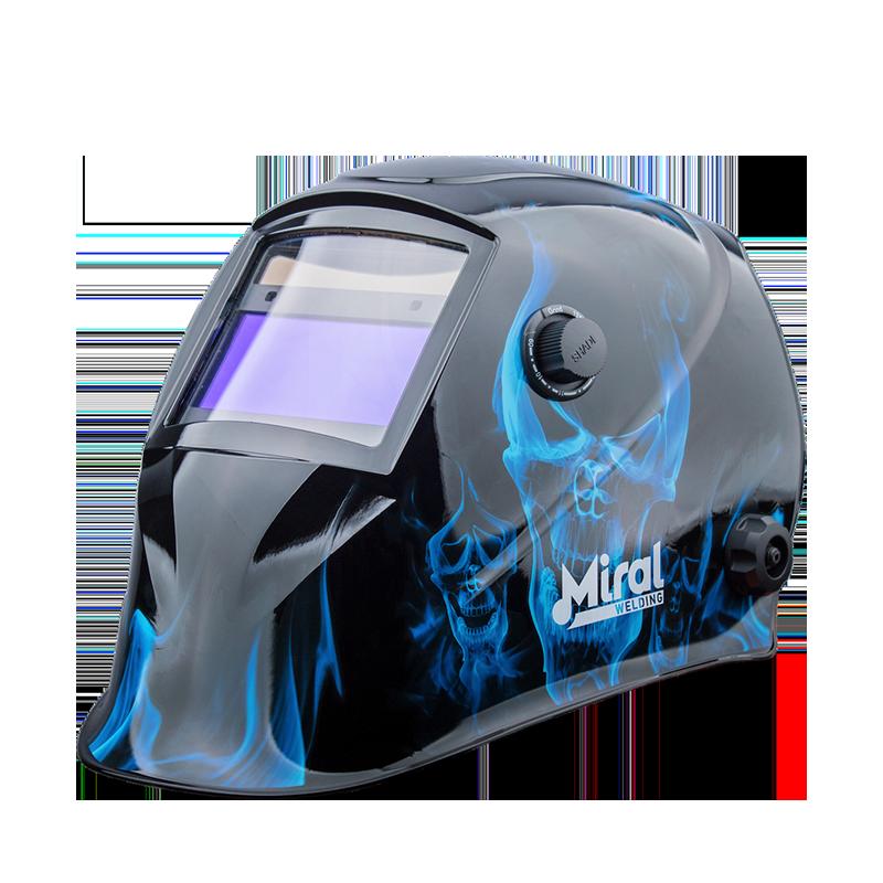 Máscara de Soldadura Automática MIRAL TURBO 610G