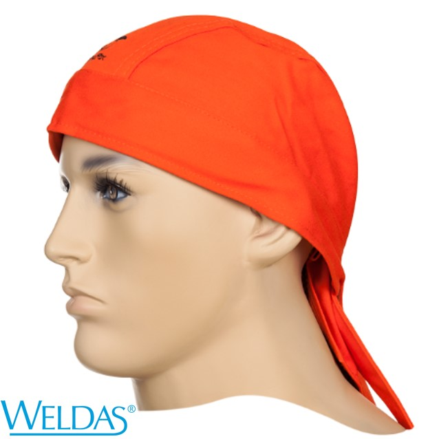 Touca Bandana WELDAS Fire Fox Laranja 23-3613