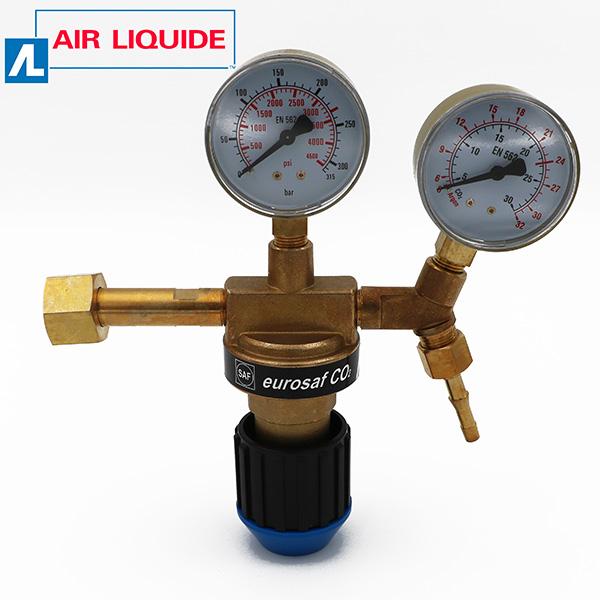 Eurosaf Regulador Manómetro de Argon / CO2