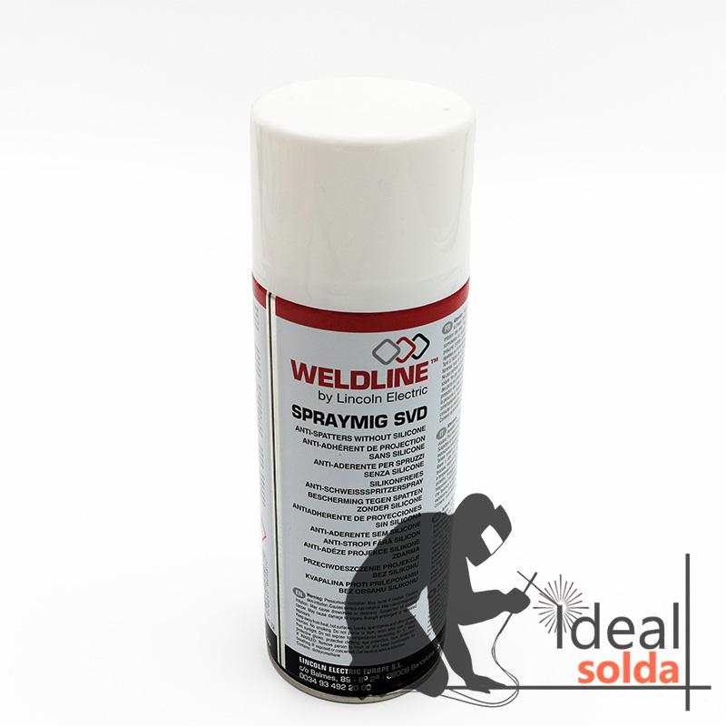 Weldline Lincoln Electric Spray Antigraínhas sem Silicone