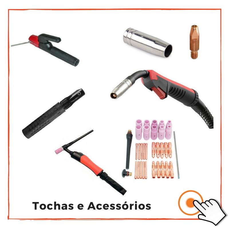 TOCHAS DE SOLDADURA E ACESSÓRIOS