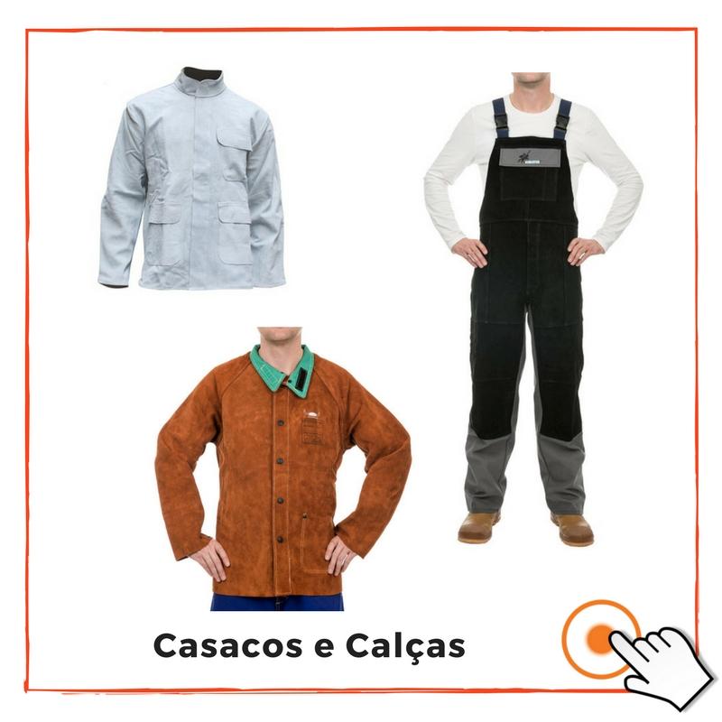 CASACOS E CALÇAS DE SOLDADOR