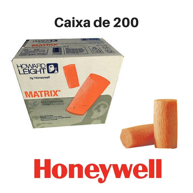 Auriculares Tampões Honeywell em espuma (caixa de 200 unidades)