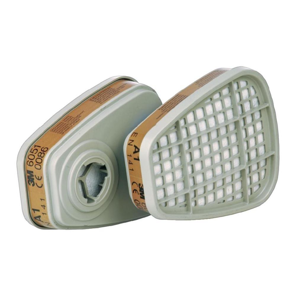 Par de filtros 3M 6051 A1 para Máscara Respiratória