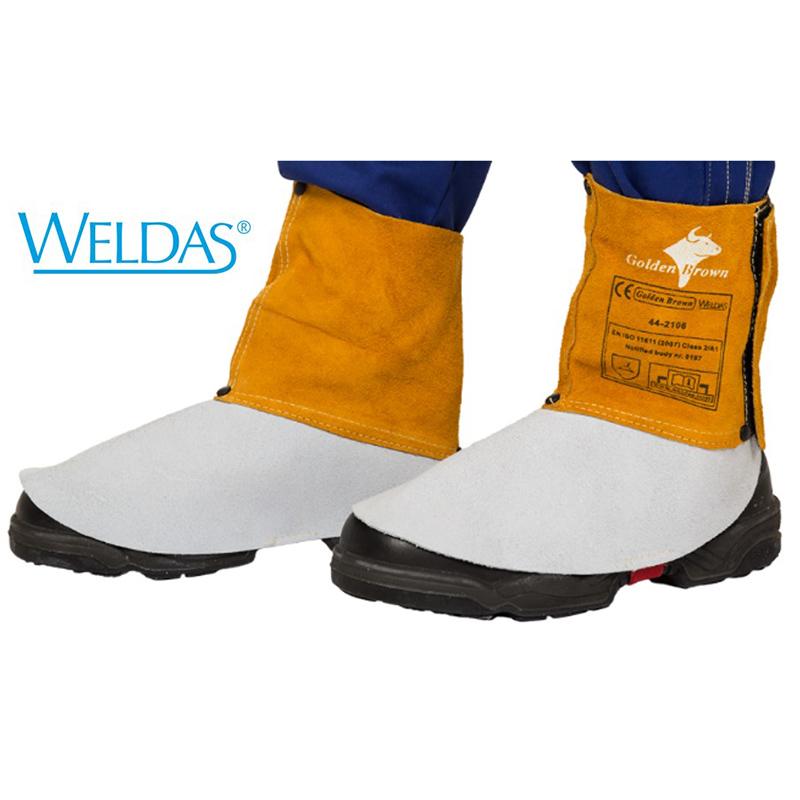 WELDAS Polainas de 15cm Golden Brown 44-2106