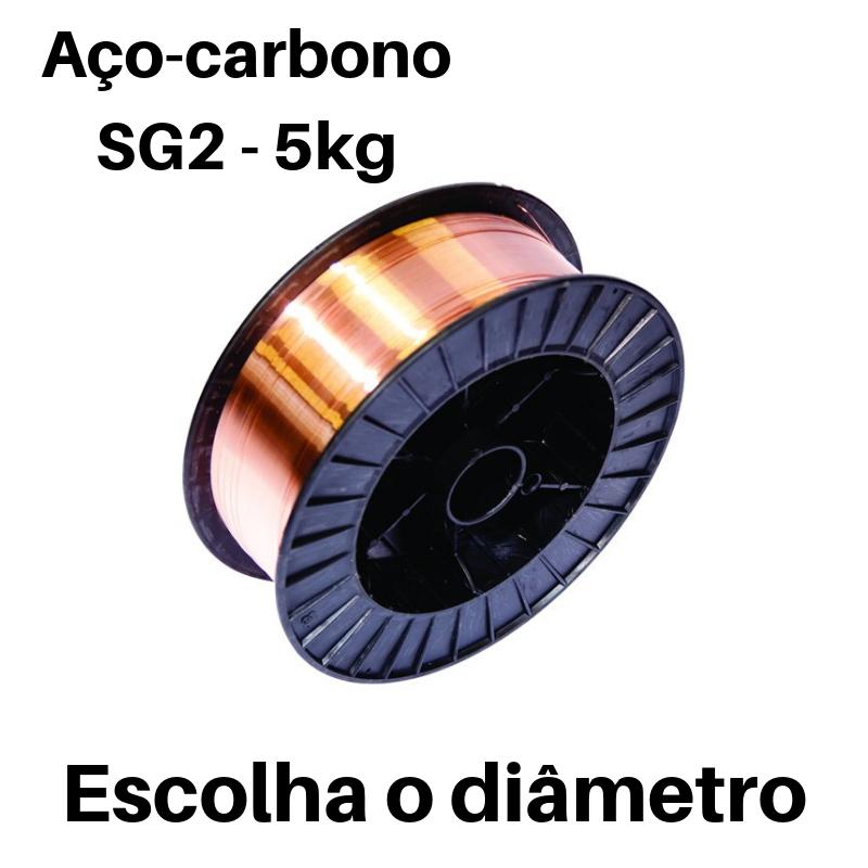 Fio Arame Sólido SG2 ER-70S-6 Bobine 5 Kg