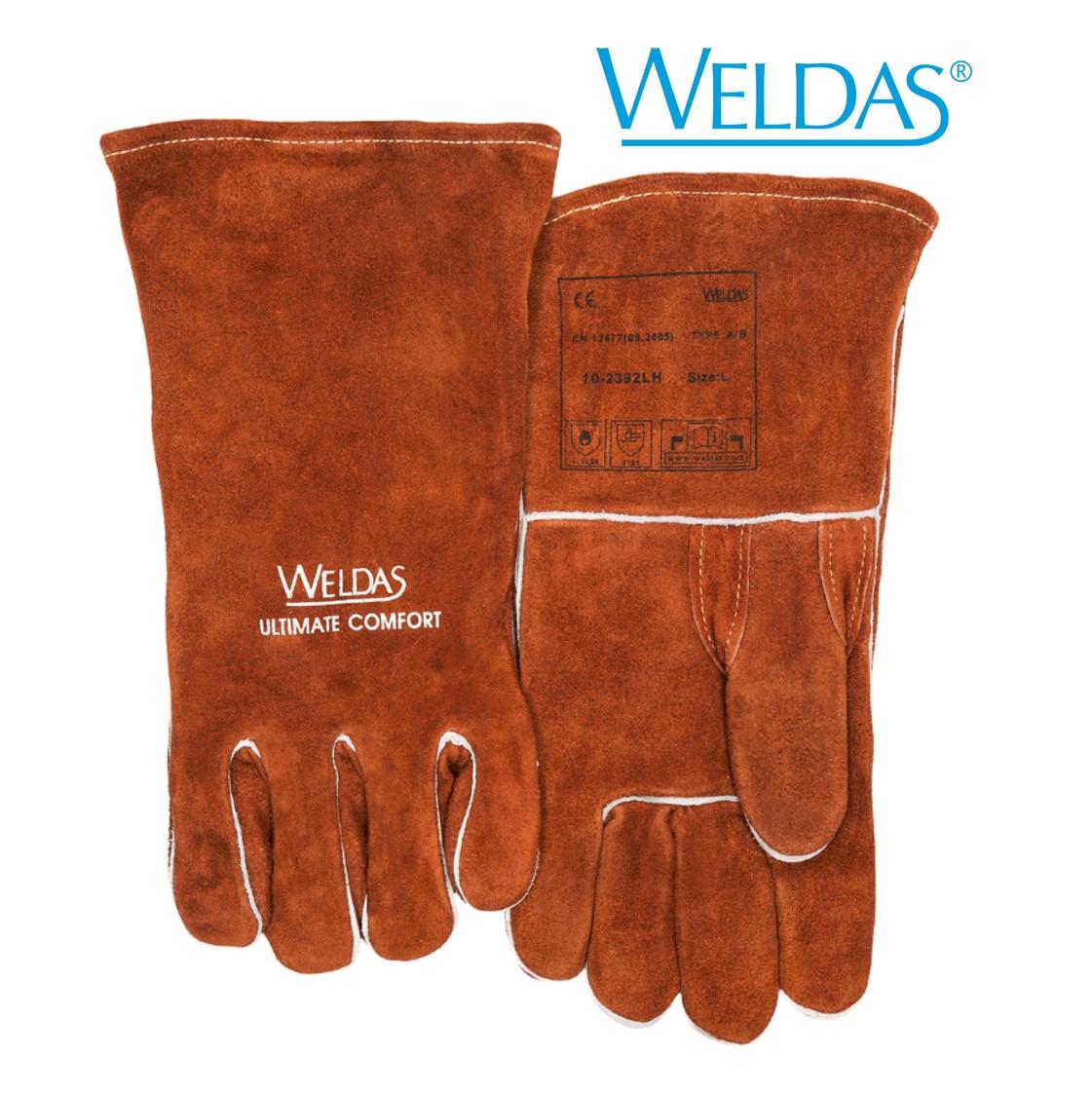Luva WELDAS para MIG MAG e ELETRODO 10-2392
