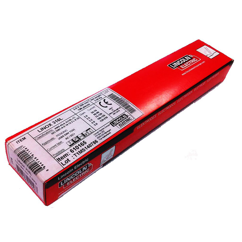 Lincoln Electric Eletrodo Aço Inox LINOX 316L 2.5 x 350mm
