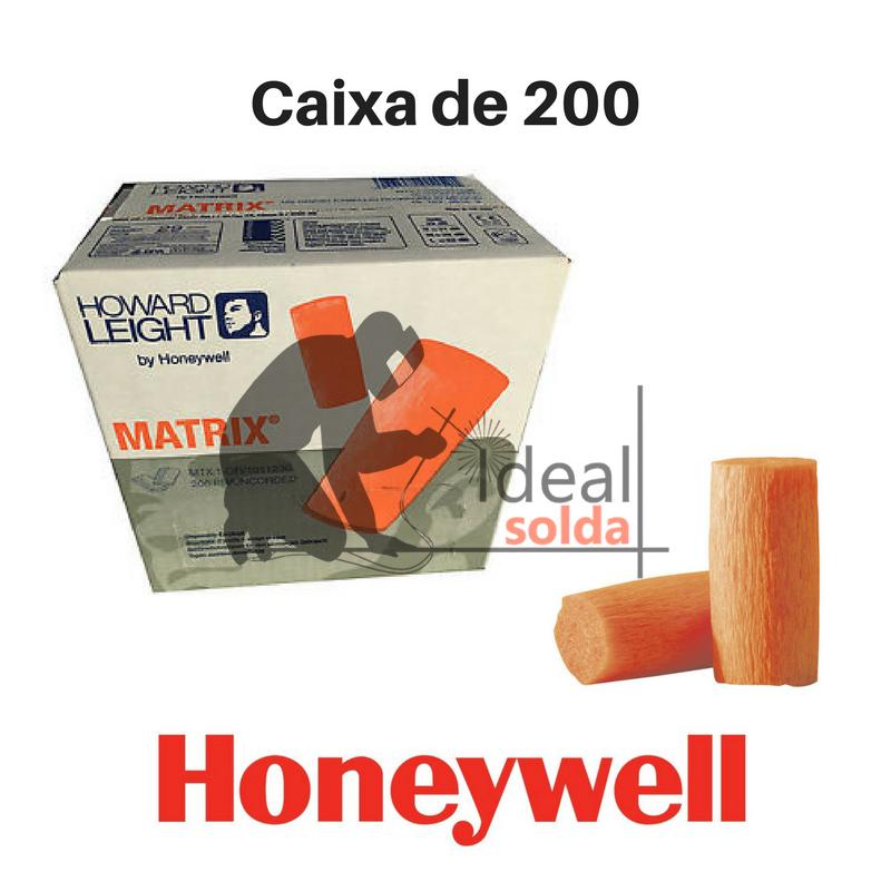 Honeywell Auriculares Tampões em espuma (caixa de 200 unidades)