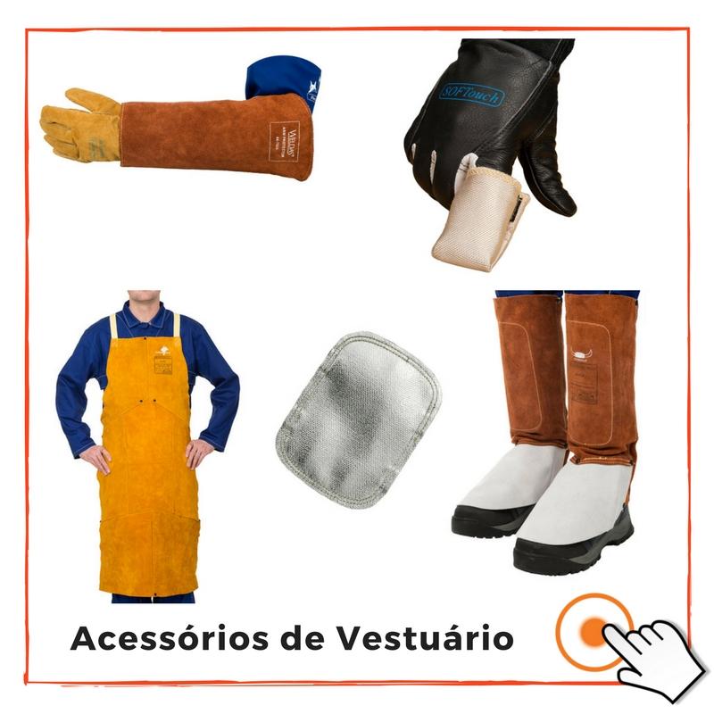 ACESSÓRIOS DE VESTUÁRIO DE SOLDADOR