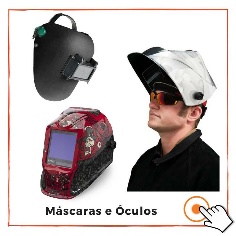 MÁSCARAS E ÓCULOS DE SOLDADOR