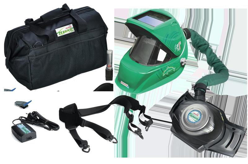 Máscara Automática Ventilada ZEPHYR FLIP-AIR 4500i Weldline Air Liquide