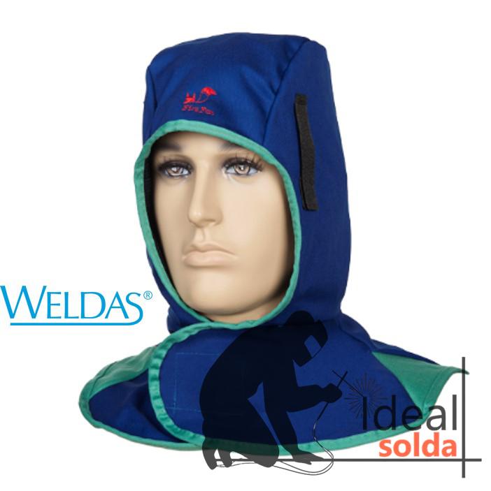 WELDAS Touca integral azul 23-6680