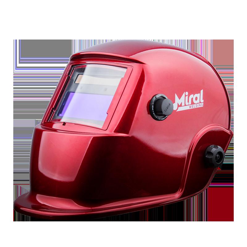 Máscara de Soldadura Automática MIRAL RED 510G