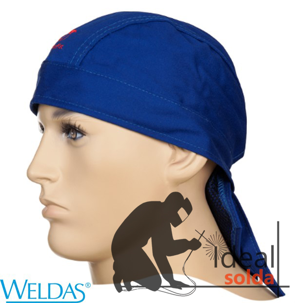 WELDAS Touca Bandana Fire Fox Azul 23-3612