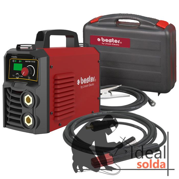 LINCOLN ELECTRIC Máquina Soldar Inverter BESTER 170-ND