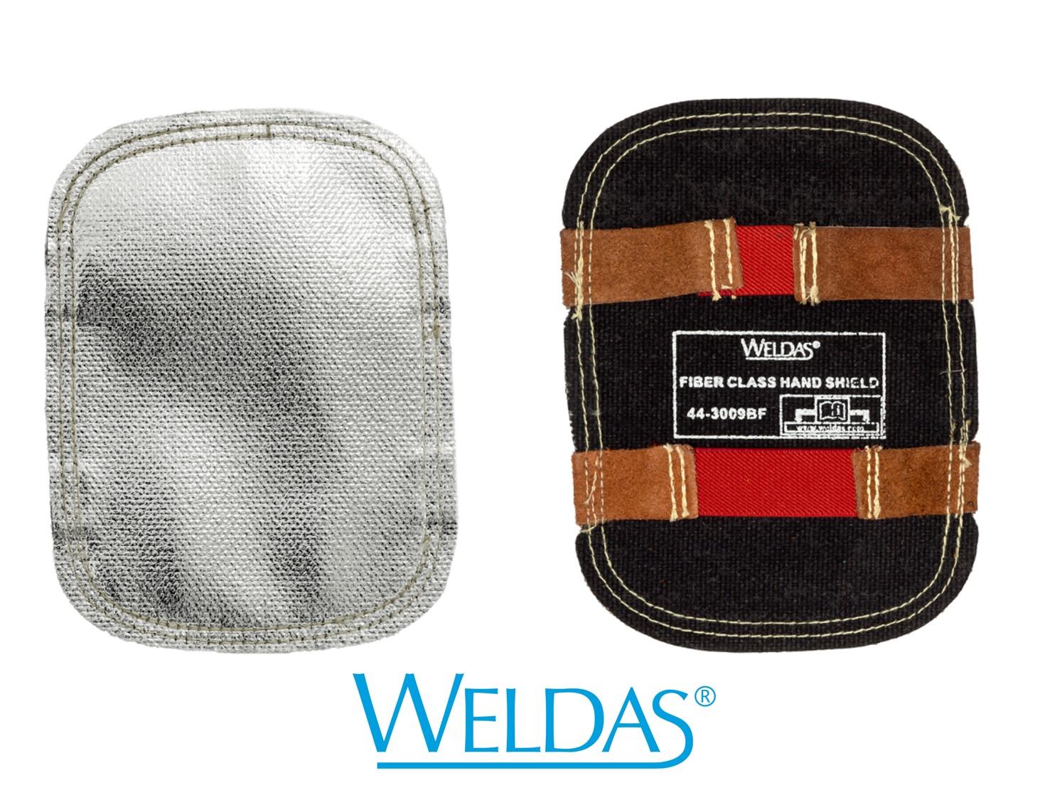 Proteção refletora em fibra de vidro para mão WELDAS 44-3009BF