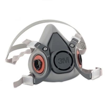 3M Máscara Respiratória Reutilizável 6000M