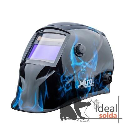 MIRAL Máscara de Soldadura Automática TURBO 610G