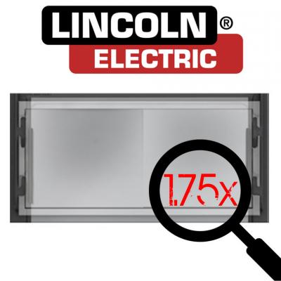 Lincoln Electric Lente Graduada para Máscara de Soldadura 51x108mm
