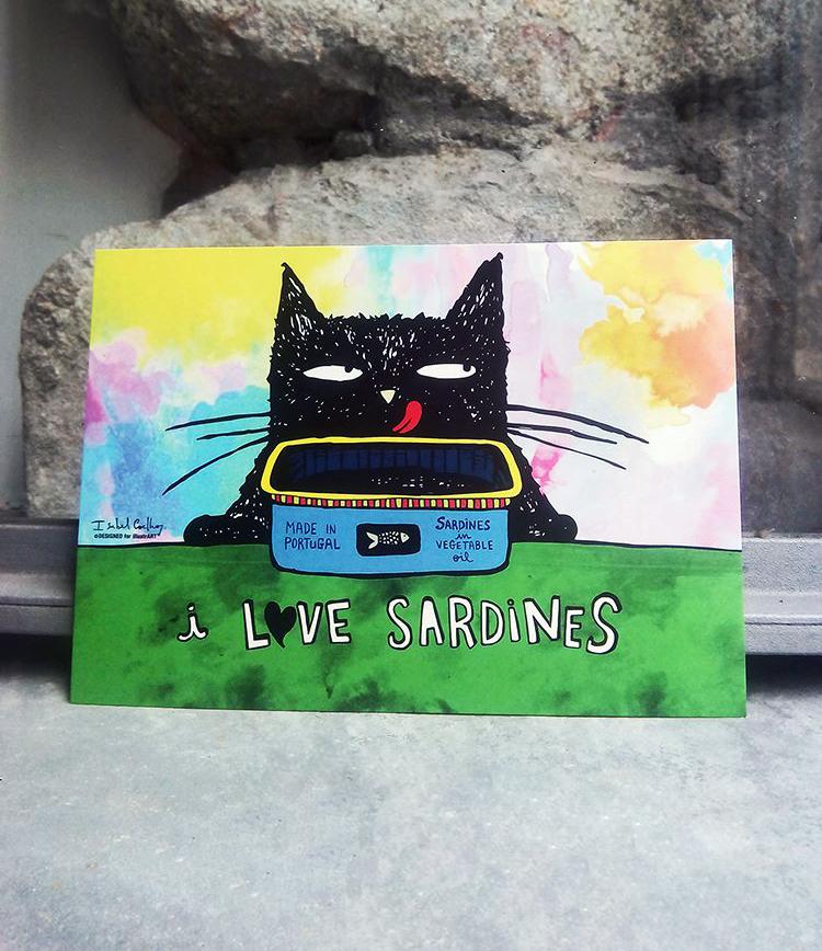 Ilustração Love Sardines