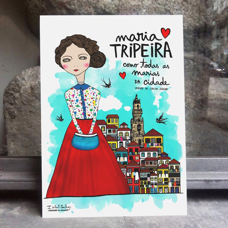 Ilustração Maria Tripeira