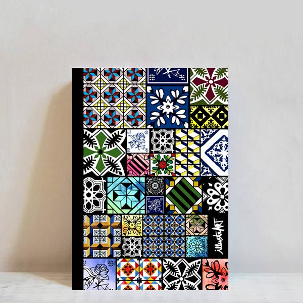 caderno azulejos